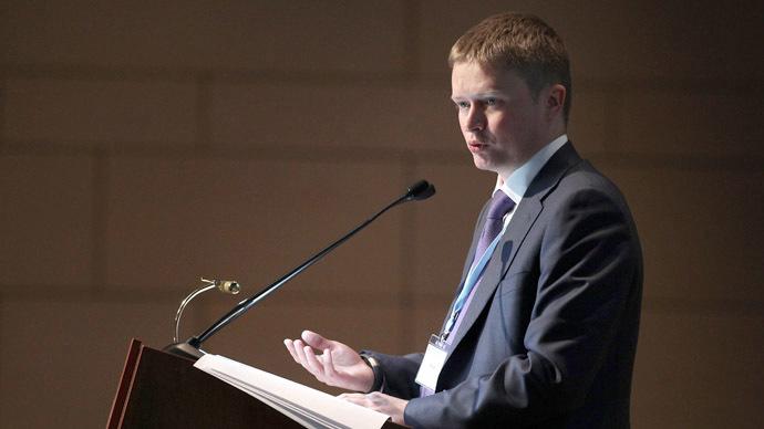 The Deputy Chairman of Russia's Vnesheconombank Aleksandr Ivanov (RIA Novosti/Evgeny Biyatov)