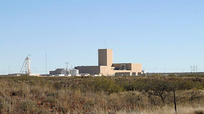 The Waste Isolation Pilot Plant (WIPP), New Mexico. (Image from wikipedia.org user@Leaflet)