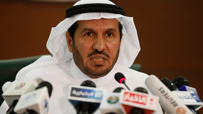 Saudi Health Minister Abdullah al-Rabia speaks during a news conference in Riyadh, April 20, 2014. (Reuters / Faisal Al Nasser)