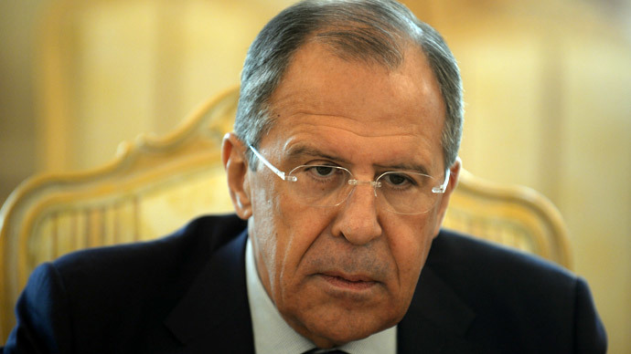 Russia's Foreign Minister Sergei Lavrov.(AFP Photo / Vasily Maximov)