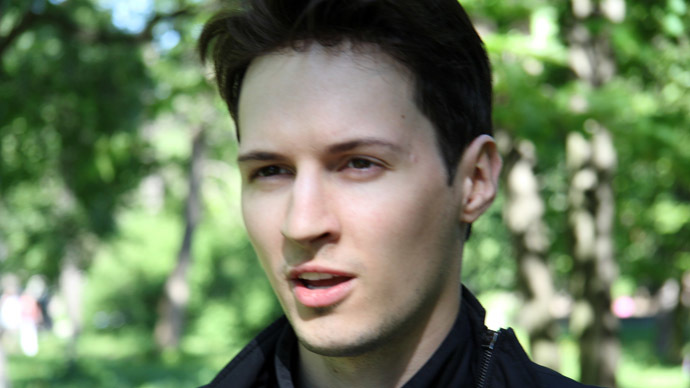 Founder of VKontakte Social Network Pavel Durov (Photo from vk.com/durov)