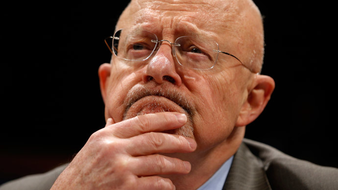 U.S. Director of National Intelligence James Clapper (Reuters / Jason Reed)