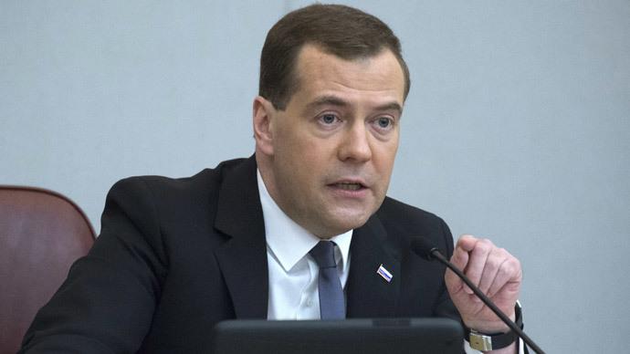 Dmitry Medvedev (RIA Novosti / Sergey Guneev)