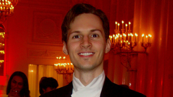 Pavel Durov (image from wikimedia.org)