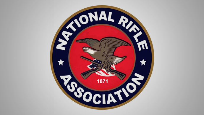 The National Rifle Association of America logo