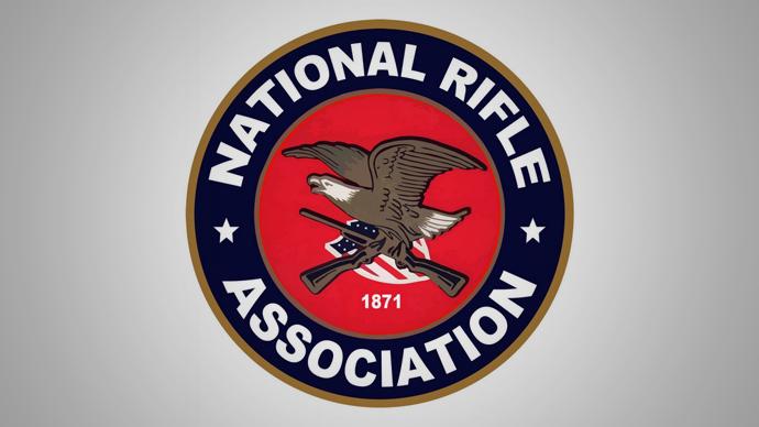 The National Rifle Association of America logo