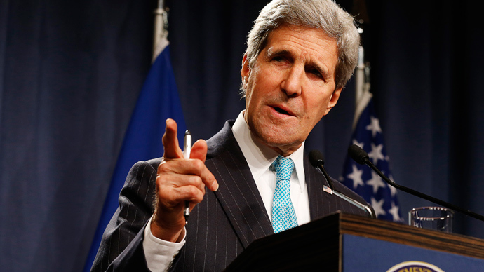 U.S. Secretary of State John Kerry (Reuters / Jim Bourg)
