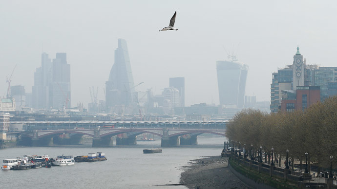 London. (Reuters / Olivia Harris)