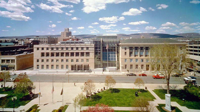 William J. Nealon Federal Building and United States Courthouse, in Scranton, Pennsylvania, USA