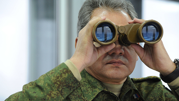 Russian Defence Minister Sergey Shoigu (Reuters / Michael Klimentyev)
