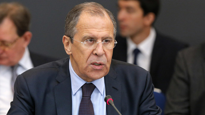 Foreign Minister of Russia Sergey Lavrov (Reuters/Maxim Shemetov)