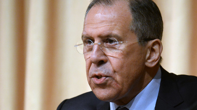 Russian Foreign Minister Sergei Lavrov (AFP Photo/Vasily Maxomov)