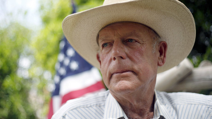 Rancher Cliven Bundy (Reuters/Jim Urquhart)