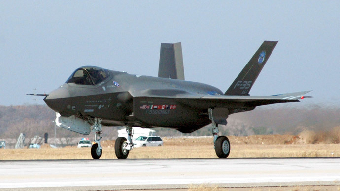 F-35.(AFP Photo / US Navy)