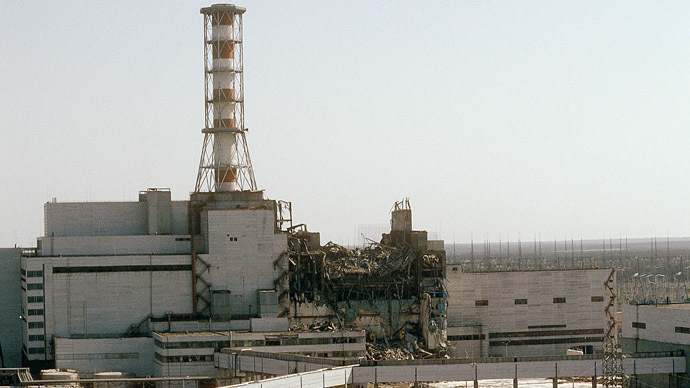 An accident happened at the Chernobyl Nuclear Power Station on April 26, 1986. (RIA Novosti)