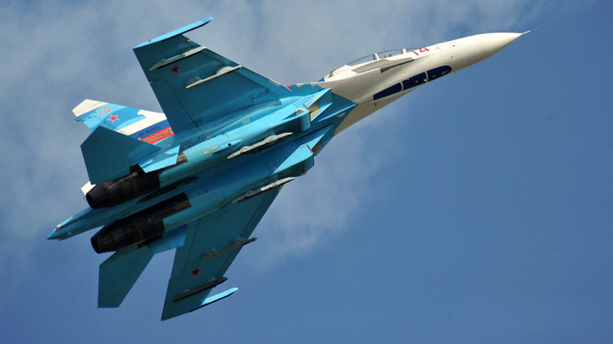 Su-27 fighter jet (RIA Novosti/Pavel Lisitsyn)