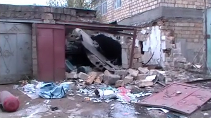 Screenshot from a video provided by the Russian National Anti-Terrorism Committee