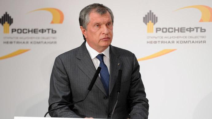 Rosneft CEO Igor Sechin (RIA Novosti/Aleksey Nikolskyi)