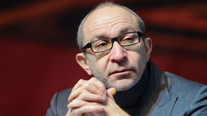 Kharkov Mayor Gennady Kernes (RIA Novosti/Chekachkov Igor)