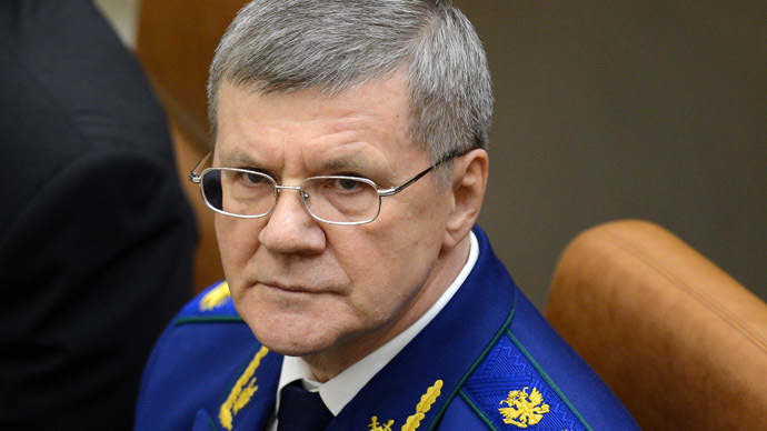 Yury Chaika, Prosecutor General of the Russian Federation (RIA Novosti/Vladimir Astapkovich)