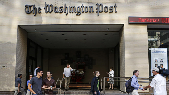 The Washington Post headquarters in Washington (Reuters/Stelios Varias)