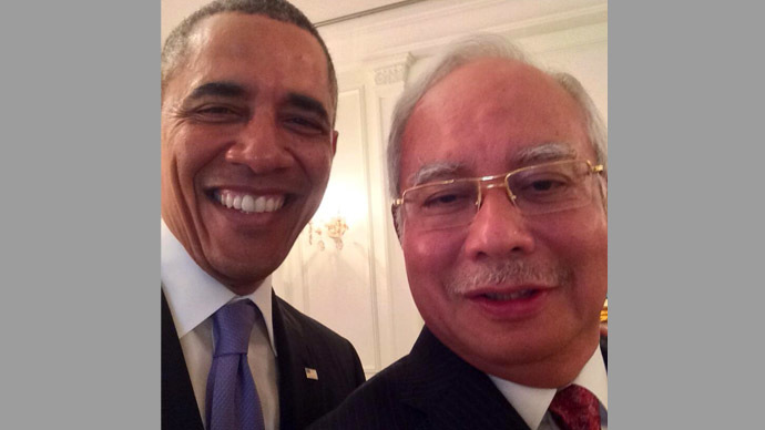 Photo from Twitter/@NajibRazak