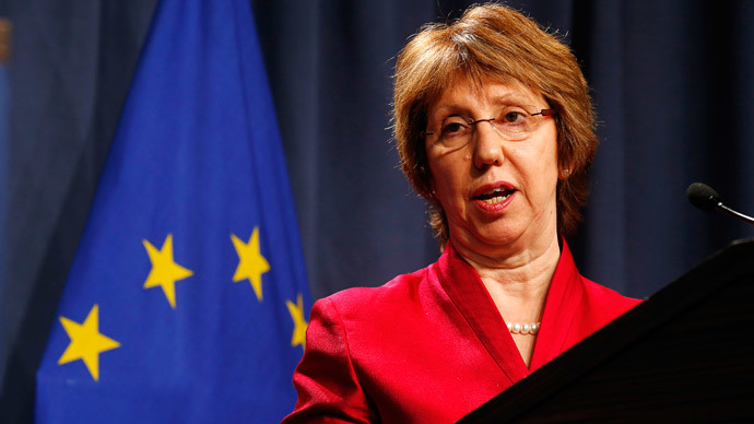 European Union High Representative Catherine Ashton  (Reuters / Jim Bourg)