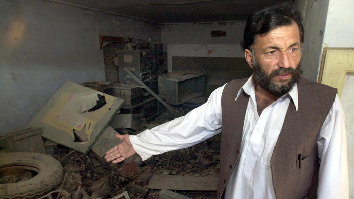 Kandahar Governor Gul Agha's chief of intelligence, Gulalai (AFP Photo / John Macdougall)