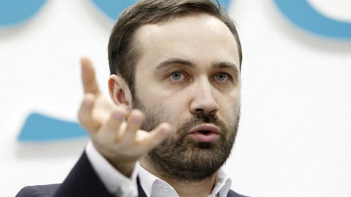 State Duma deputy Ilya Ponomaryov (Reuters/Maxim Shemetov)