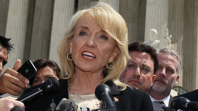 Arizona Gov. Jan Brewer (Mark Wilson / Getty Images / AFP)