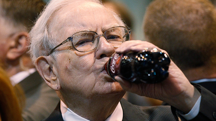 Berkshire Hathaway CEO Warren Buffett (Reuters / Rick Wilking)