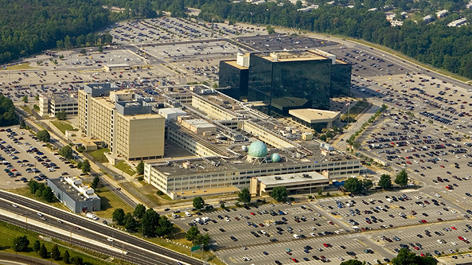 The National Security Agency (NSA) is shown in Fort Meade, Maryland, a suburb of Washington (AFP Photo / Paul J. Richards)