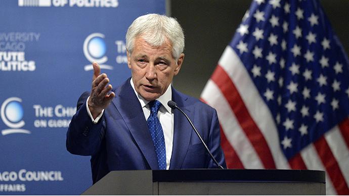 U.S. Secretary of Defense Chuck Hagel (AFP Photo / Brian Kersey)