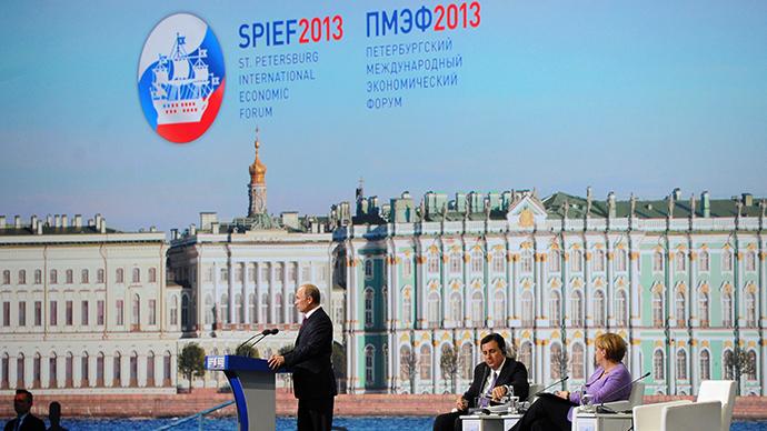 XVII St. Petersburg International Economic Forum (RIA Novosti / Michael Klimentyev)