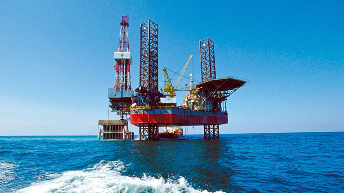 China National Offshore Oil Corporation's (CNOOC) oil rig in China's Bohai Sea is seen in this file photograph taken January 21, 2005. (Reuters)