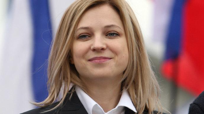 Crimean prosecutor Natalya Poklonskaya (RIA Novosti/Taras Litvinenko)