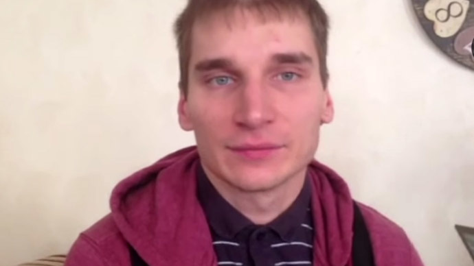 Pavel Kanygin (Still from YouTube video/novayagazeta)