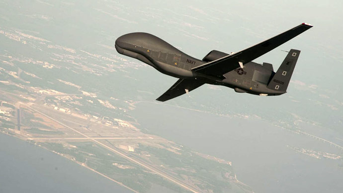 RQ-4 Global Hawk unmanned aerial vehicle (Reuters/U.S. Navy/Erik Hildebrandt/Northrop Grumman)