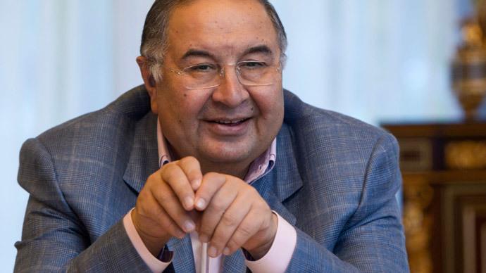 Alisher Usmanov.(Reuters / Maxim Shemetov)