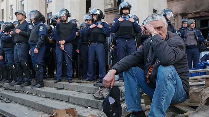 Odessa, May 3, 2014 (Reuters / Gleb Garanich)