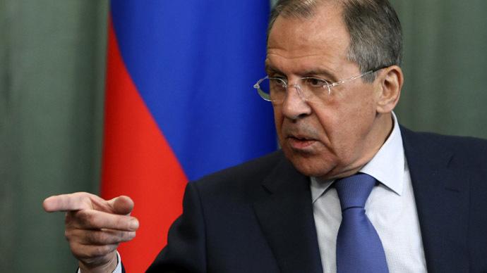 Russia's Foreign Minister Sergei Lavrov (Reuters/Sergei Karpukhin)