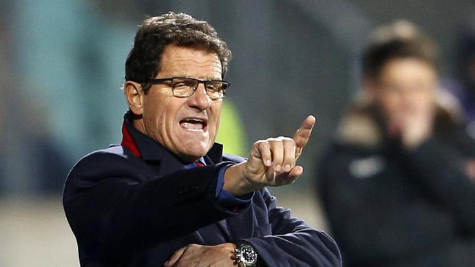 Russia's coach Fabio Capello (Reuters/Francois Lenoir)