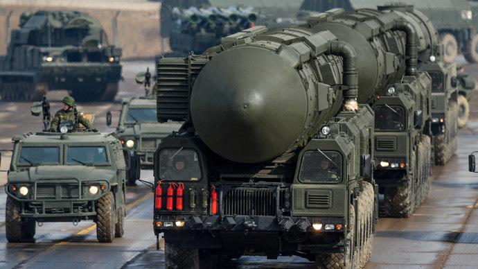 Topol-M ground missile complex launcher (RIA Novsoti/Ramil Sitdikov)