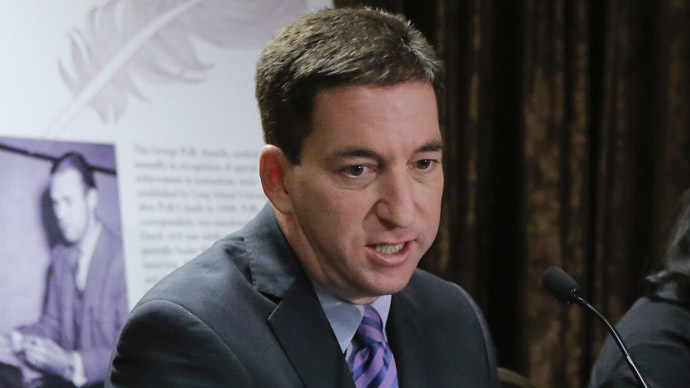 Glenn Greenwald (Reuters/Eduardo Munoz)