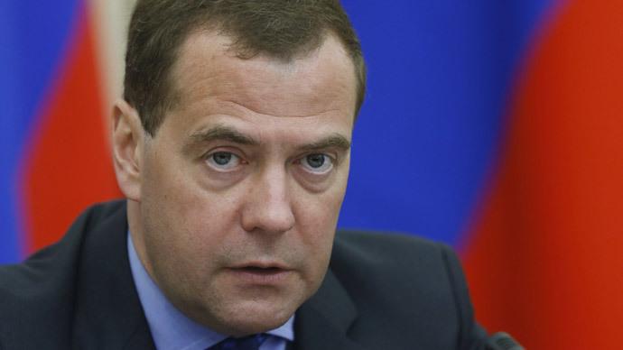 Prime Minister Dmitry Medvedev.(RIA Novosti / Dmitry Astakhov)