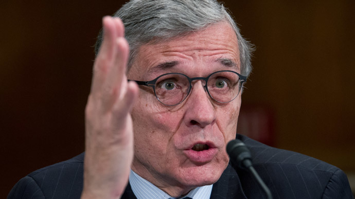 FCC Chairman Tom Wheeler.(AFP Photo / Karen Bleier)