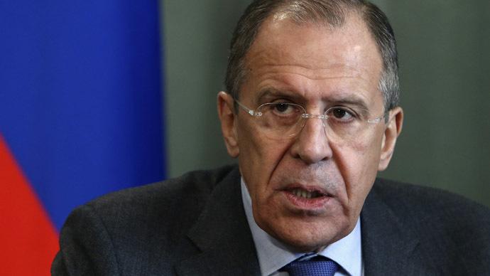 Russian Foreign Minister Sergei Lavrov (Reuters/Sergei Karpukhin)