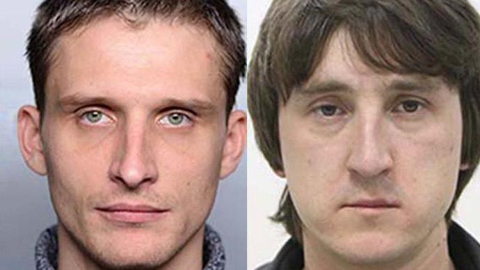 Journalists Oleg Sidyakin and Marat Saichenko. Image from www.lifenews.ru