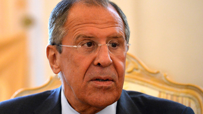 Russian Foreign Minister Sergey Lavrov.(AFP Photo / Yuri Kadobnov )