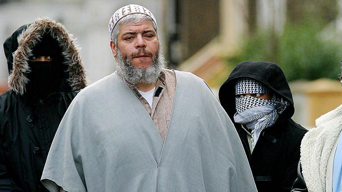 Muslim cleric Sheikh Abu Hamza (Reuters / Matt Dunham)